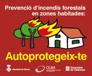 Vídeos sobre la normativa de prevenció d'incendis forestals en zones habitades i consells d'autoprotecció