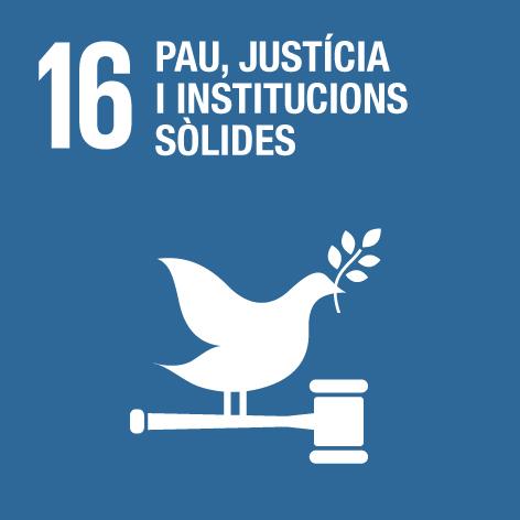 16 pau justícia institucions ODS CILMA