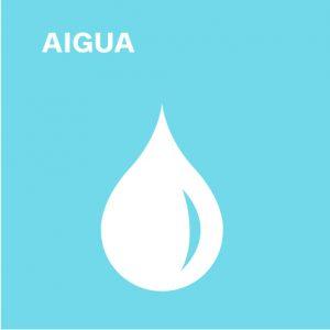 àmbits de sostenibilitat aigua al cilma, gota blava